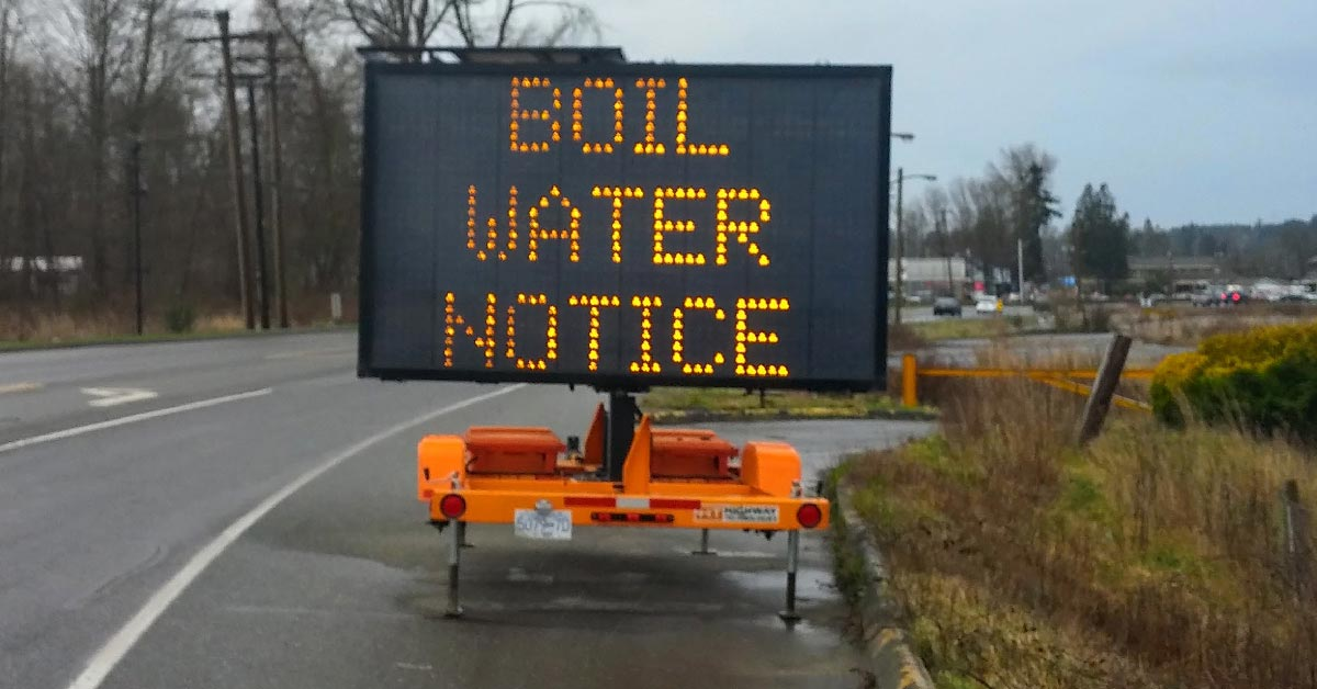 Boil Water Notice  Province Step  Protect Local Drinking