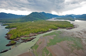 Lelu Island site of proposed Petronas Pacific Northwest LNG