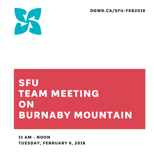 SFU Team Meeting Invite for February 06, 2018