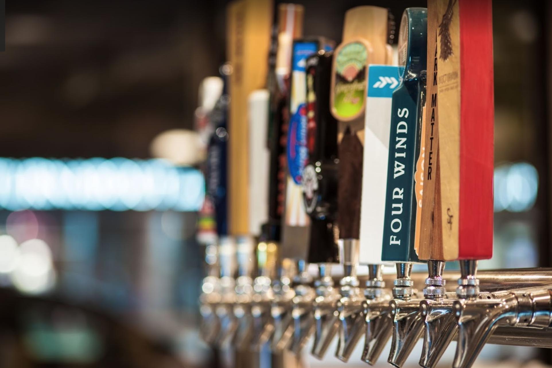Bar taps at Colony Bar