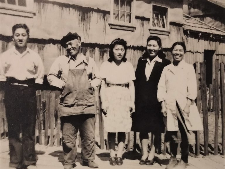Yoshida family Tashme internment camp 1943