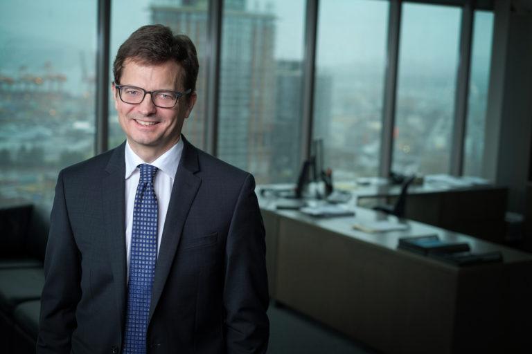 Portrait of BC Hydro CEO Chris O'Riley
