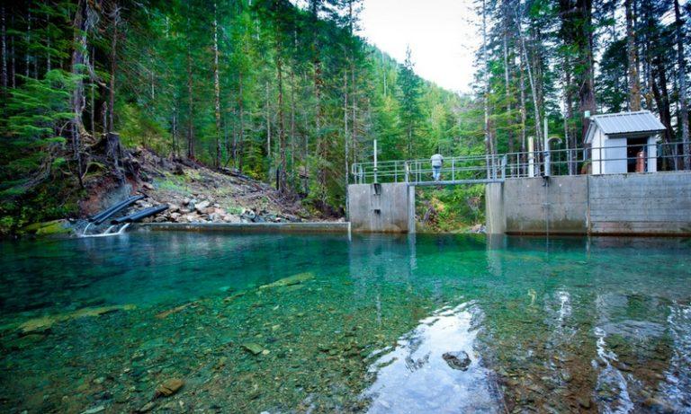 Canoe Creek run of river hydro project